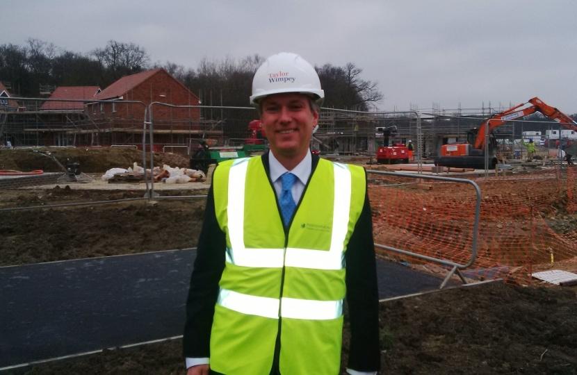 Crawley MP backs school in town's newest neighbourhood