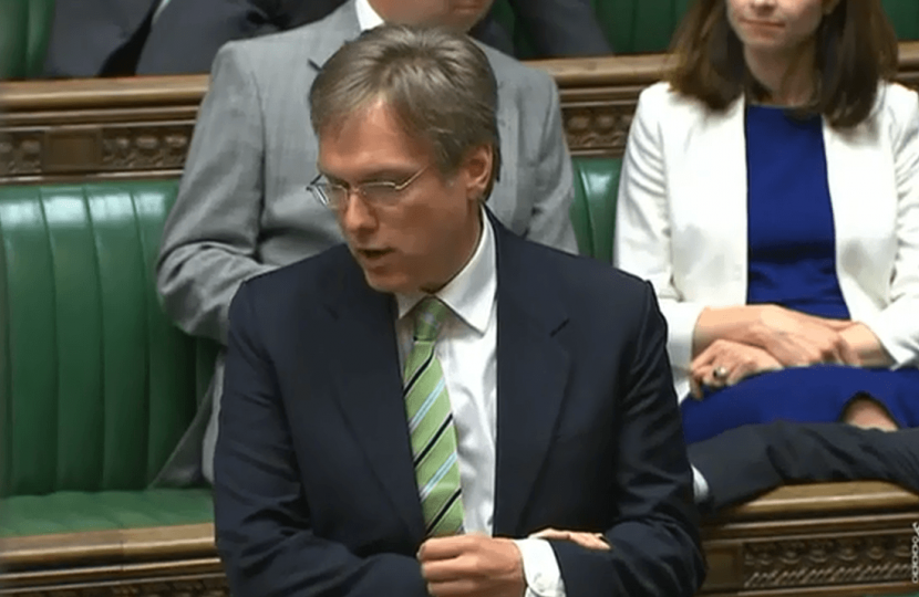 Henry Smith MP calls for Commons debate on aircraft air intake poisoning