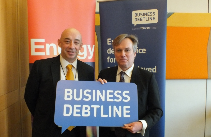 Crawley MP urges local small businesses to seek free advice