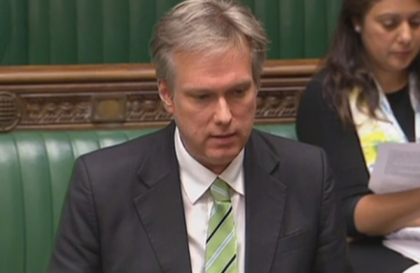 Henry Smith MP speech in the House of Commons General Debate on the Chris Gibb Report: Improvements to Southern Railway