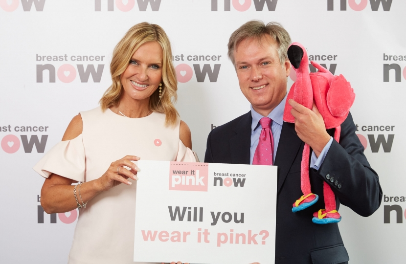 Henry Smith MP: Wear It Pink for breast cancer