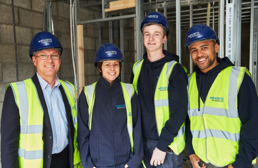Crawley MP hails local apprentices