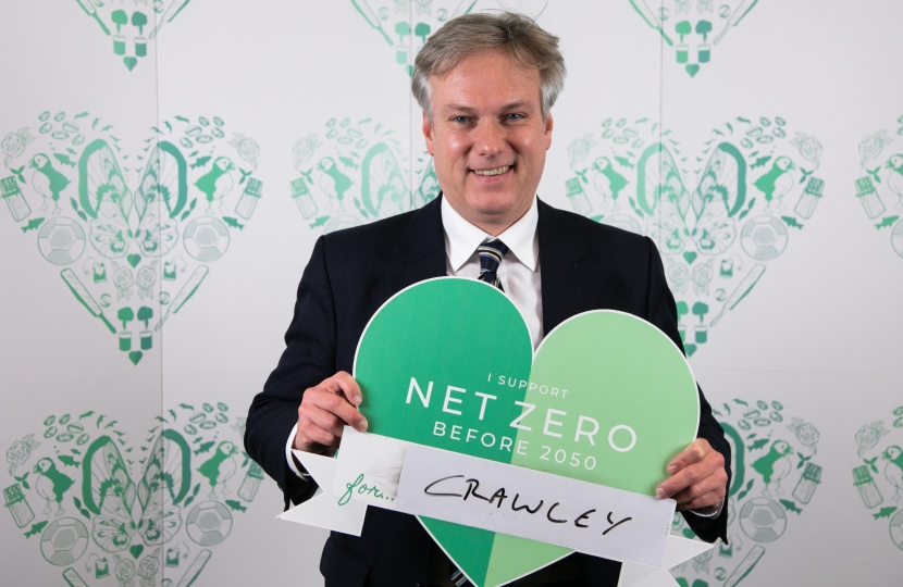 Henry Smith MP calls for increased climate protection