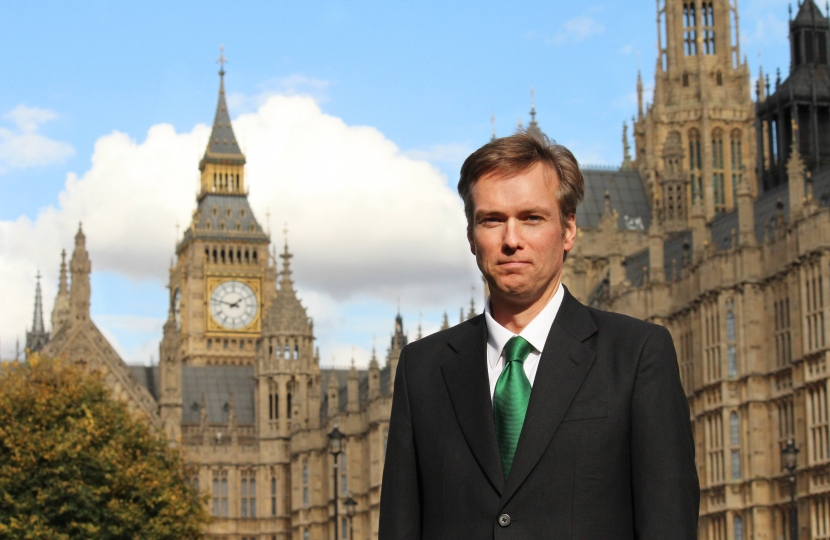 Henry Smith MP raises awareness of bowel cancer in Crawley this Bowel Cancer Awareness Month