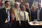 Henry Smith MP welcomes Dr Brian May to Parliament for Team Fox launch