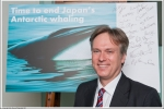 Henry Smith MP supports calls for an end to Japan's Antarctic whaling