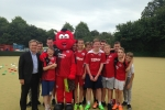 Launching National Citizen Service at Crawley Town
