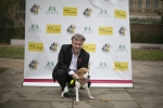 Henry Smith MP takes pet beagle for walkies in Westminster