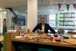 Henry Smith MP attends Crawley Macmillan Coffee Morning