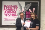 Henry Smith MP backing Crawley Forever Against Animal Testing Body Shop campaign