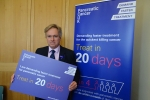 Crawley MP backs campaign for faster treatment for people with pancreatic cancer