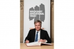 Henry Smith MP signs Holocaust Educational Trust Book of Commitment